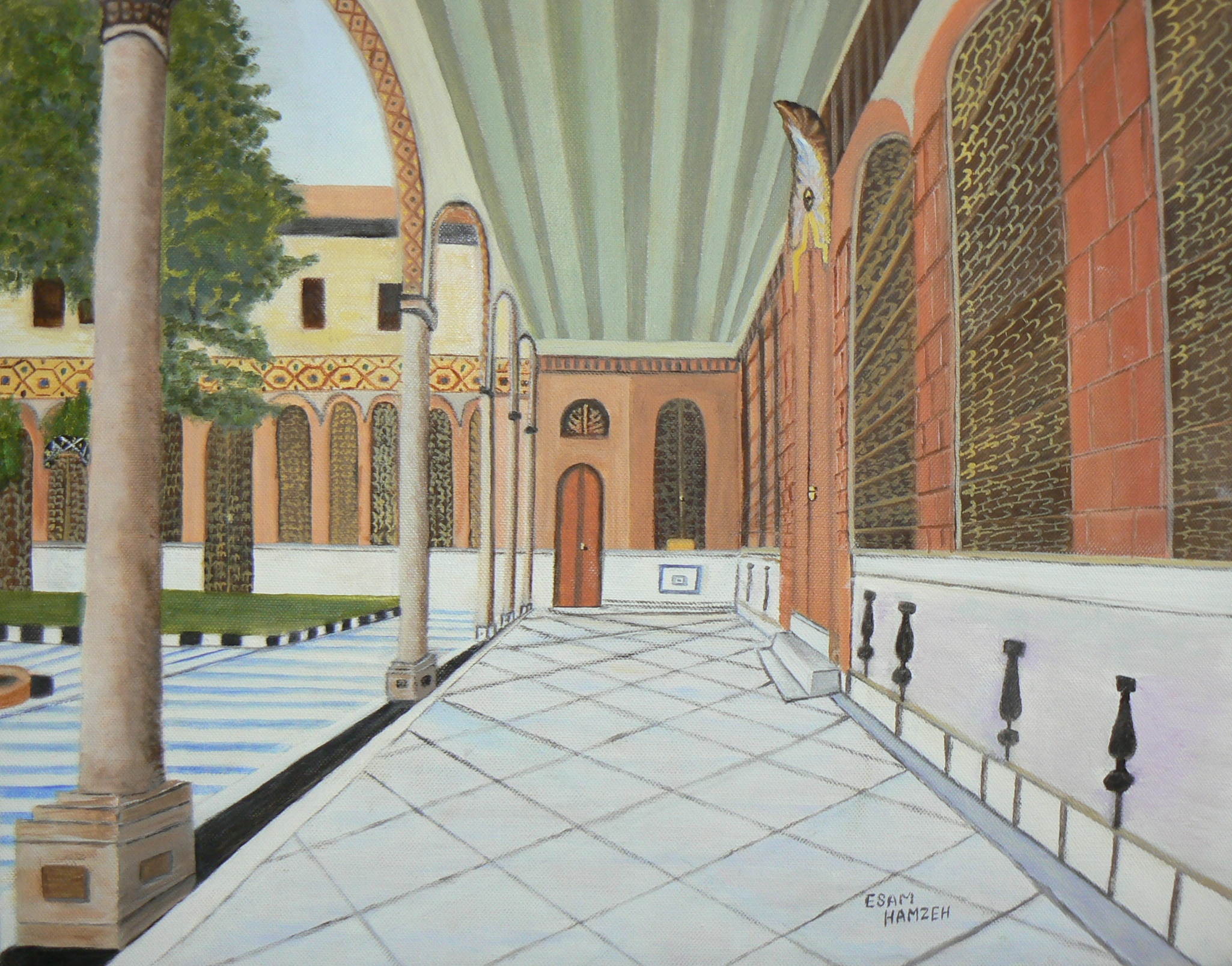 Syria esam hamzeh 39 s art for The damascus house